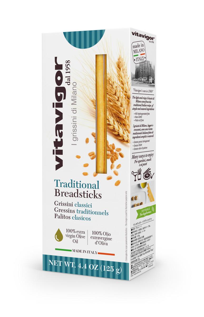 Plain Grissini Breadsticks