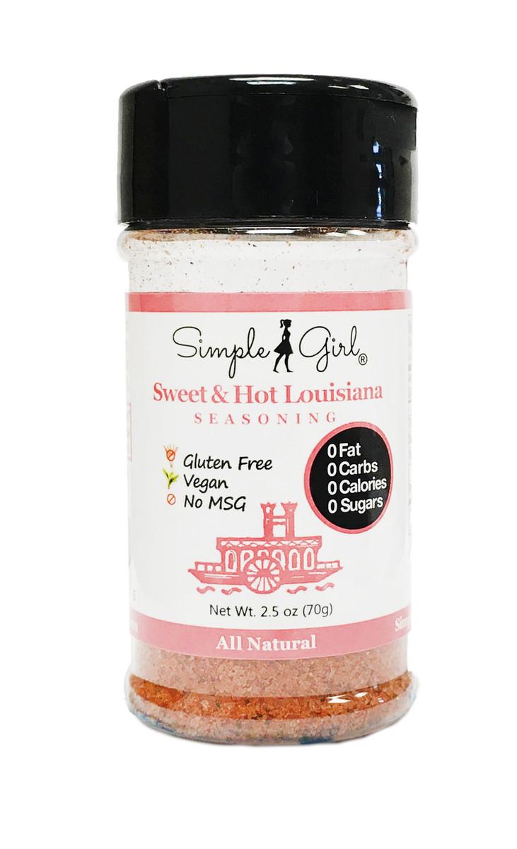 Sugar-Free Sweet & Hot Louisiana Seasoning