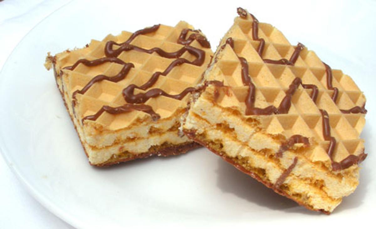Maintenance Vanilla Wafer/Cookie - High Protein