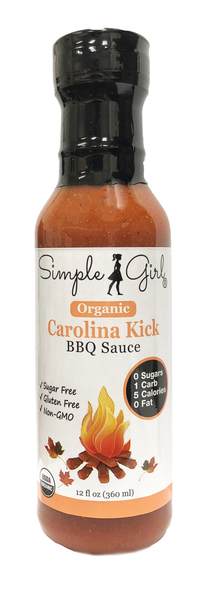 Simple Girl Organic Carolina Kick BBQ Sauce