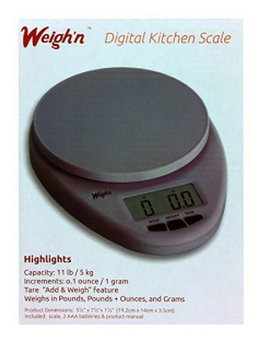Kitchen Scale for the HCG Diet