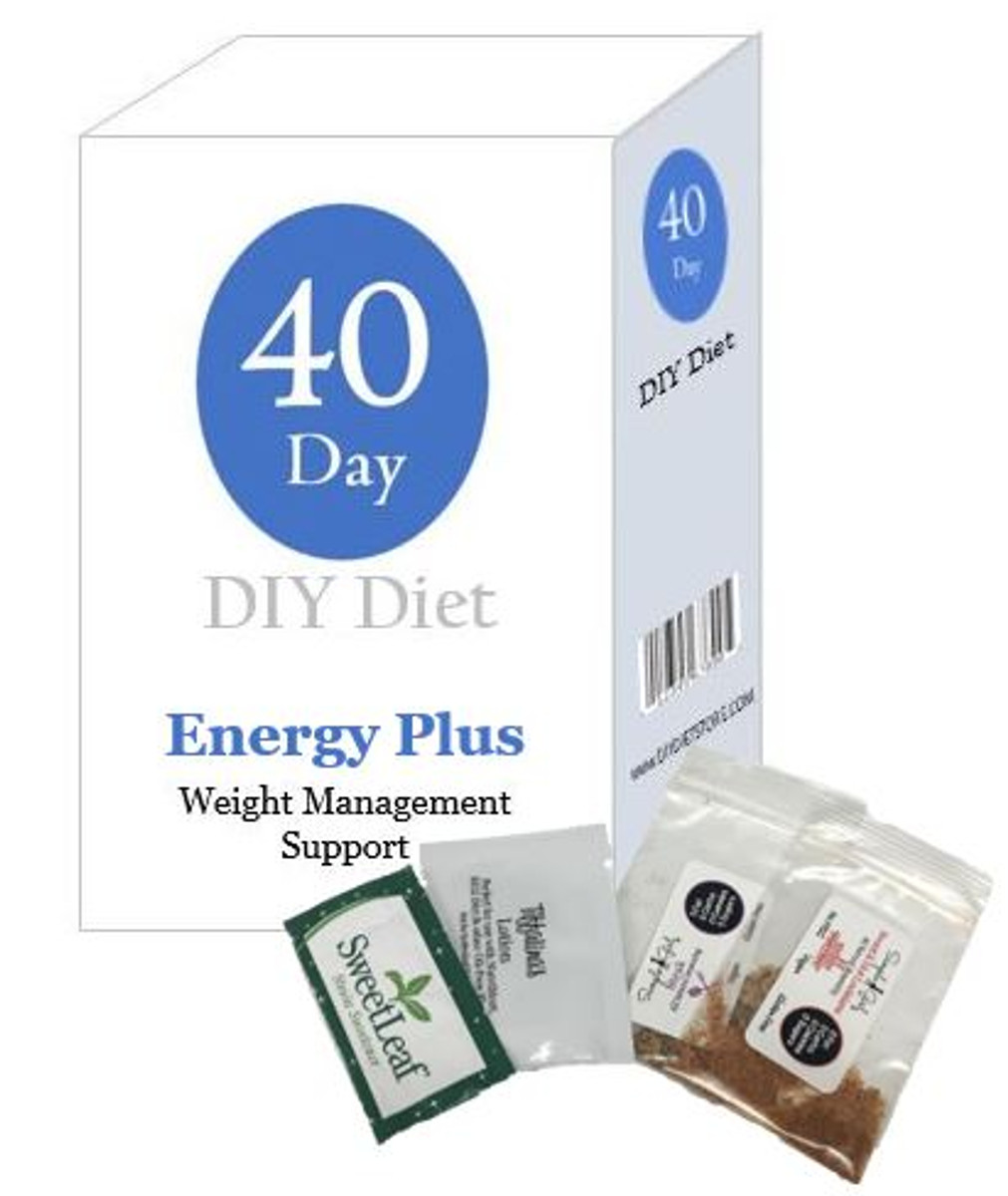 40 Day DIY Diet Weight Loss Package Plus Energy