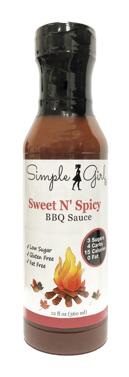 Simple Girl Sweet N' Spicy BBQ Sauce