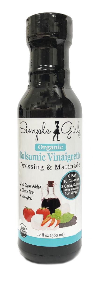 Simple Girl Organic Balsamic Salad Dressing