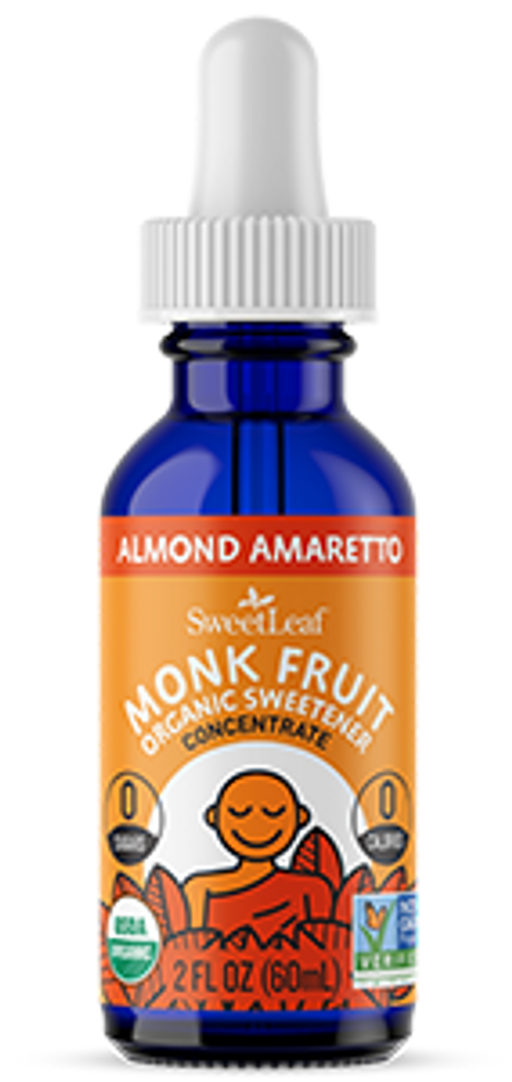 Almond Amaretto Monk Fruit Organic Sweetener