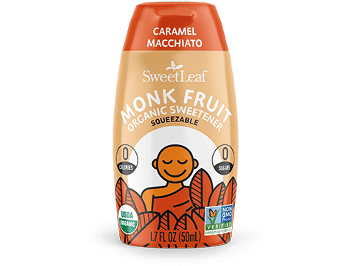 Caramel Macchiato Monk Fruit Organic Sweetener