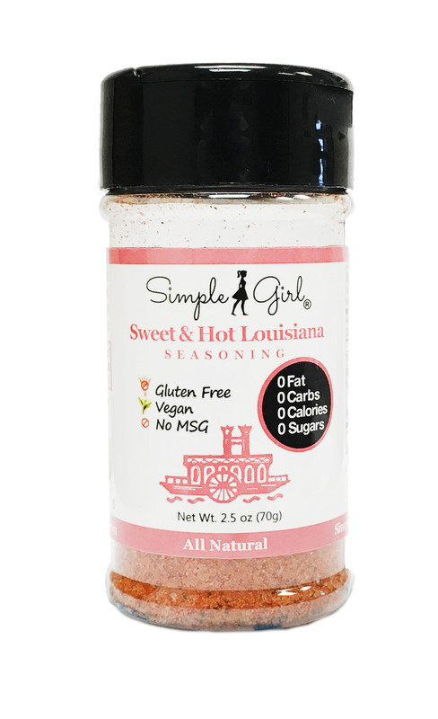 Sugar-Free Sweet & Hot Louisiana Seasoning
