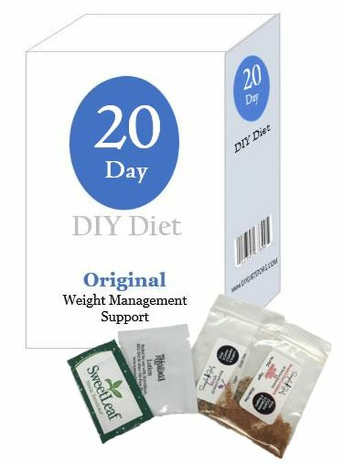 20 Day DIY Diet Weight Loss Package