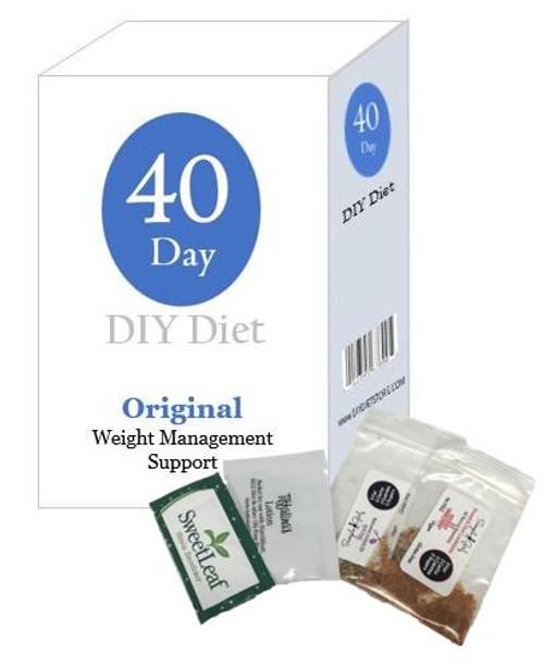 40 Day DIY Diet Weight Loss Package - Original Formula