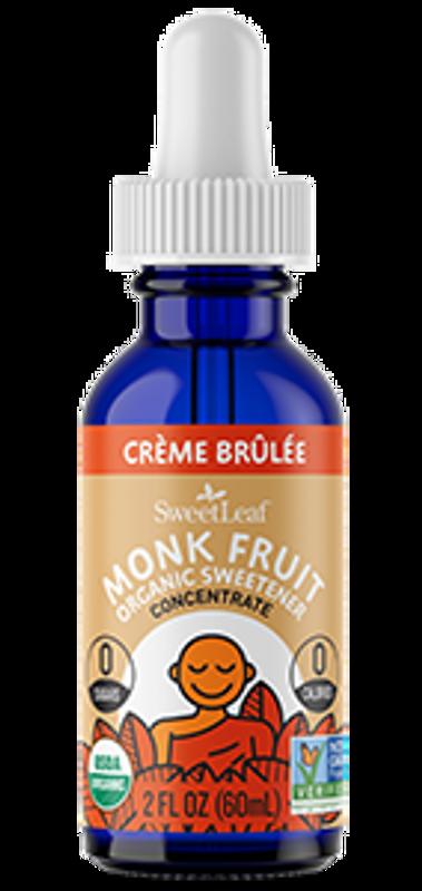 Crème Brûlée Monk Fruit Organic Sweetener
