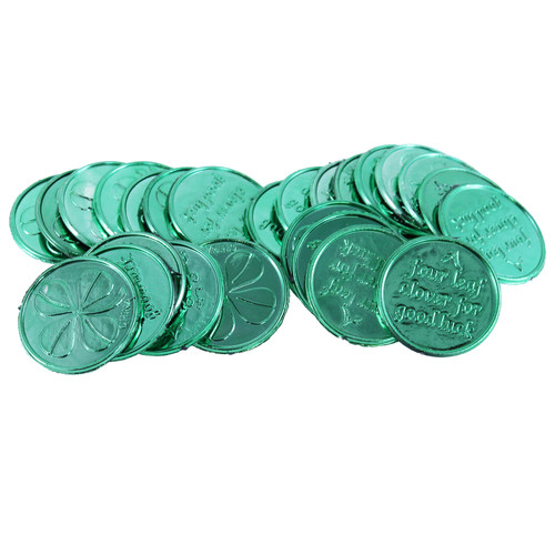 St. Patrick's Day Coins 24PK
