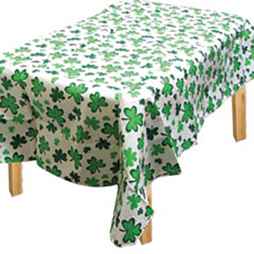 Shamrock Printed Tablecover