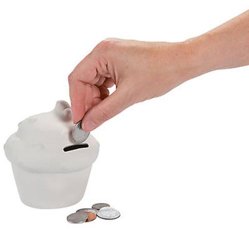 DIY Ceramic Cupcake Banks