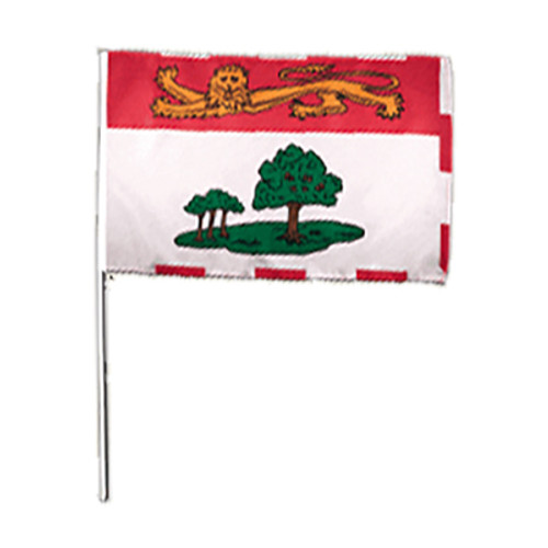 Prince Edward Island Hand Waving Flag 2' x 3'