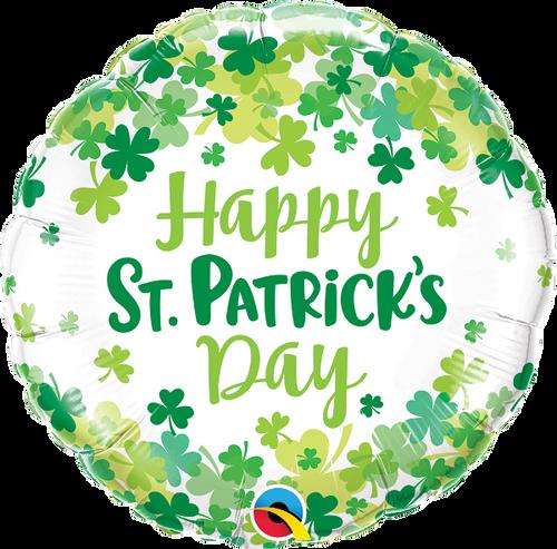 St. Patrick's Shamrock Confetti