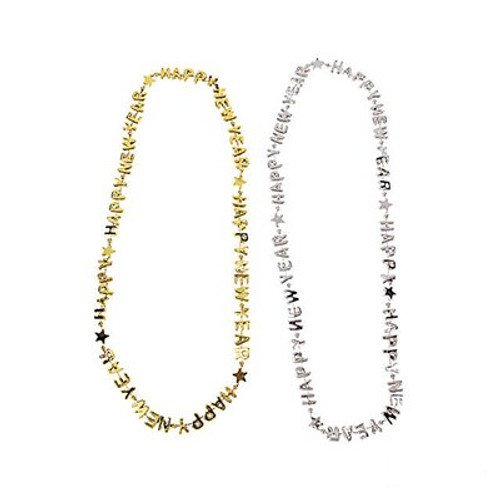 New Year's Eve Gold Necklace