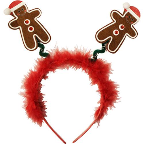 Christmas Gingerbread Man Headband