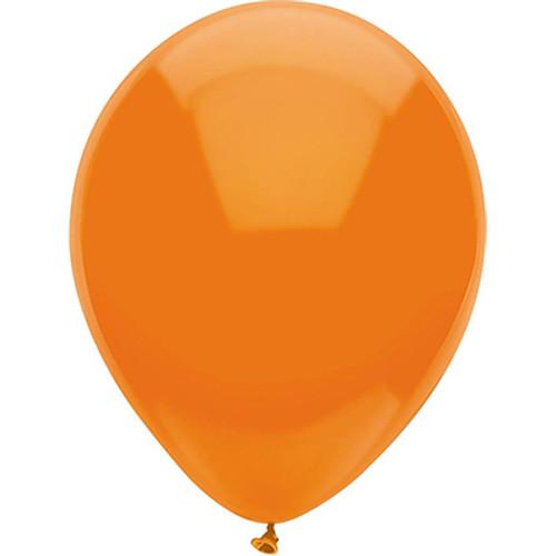 "PartyMate Bright Orange 12"" Latex Balloon 15 Count"