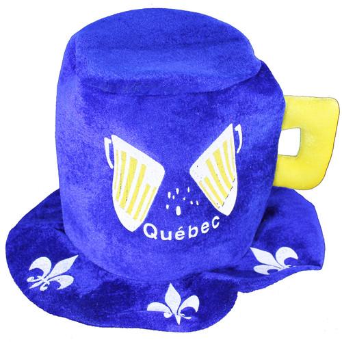 Quebec Felt Party Hat | Chapeau de fête en feutre du Québec