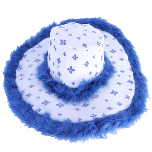 Quebec Party Hat With Fur | Chapeau de fête du Québec avec fourrure