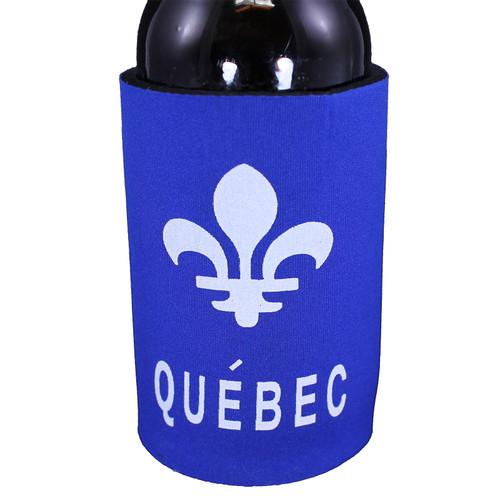 Quebec Neoprene Can Holder   Porte-bidon en néoprène Québec