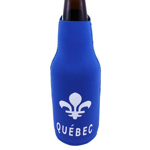 Quebec Neoprene Bottle Holder | Porte-bouteille en néoprène Québec