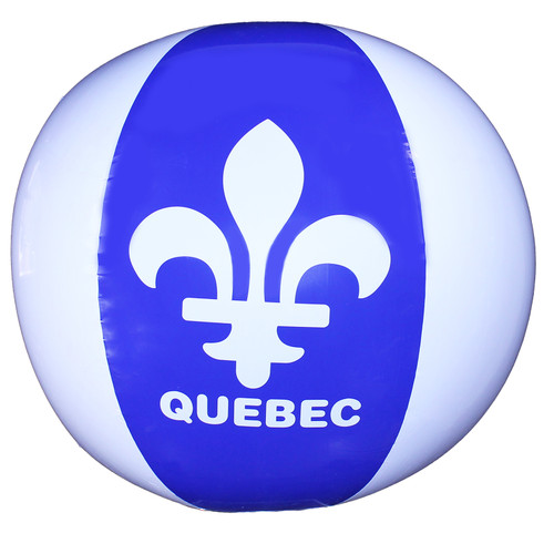 Quebec Inflate Beach Balls | Ballons de plage gonflables Québec