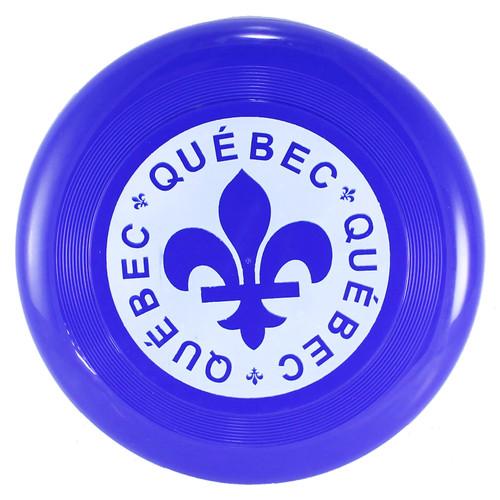 Quebec Print Frisbee   Frisbee imprimé du Québec