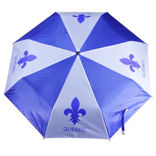 Quebec Print Umbrella   Parapluie imprimé Québec