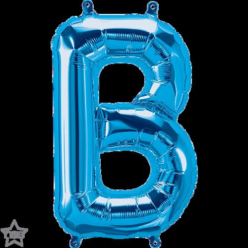 Letter B 16 in - Blue Foil Balloon
