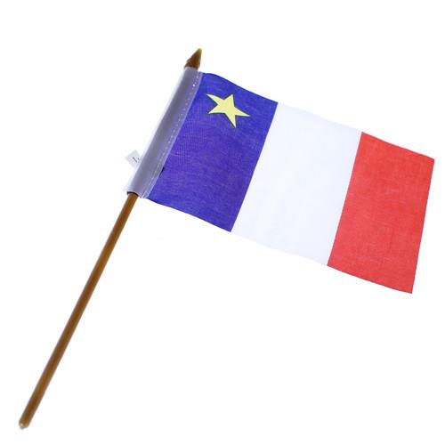 "Acadian Flag 4"" x 6"""