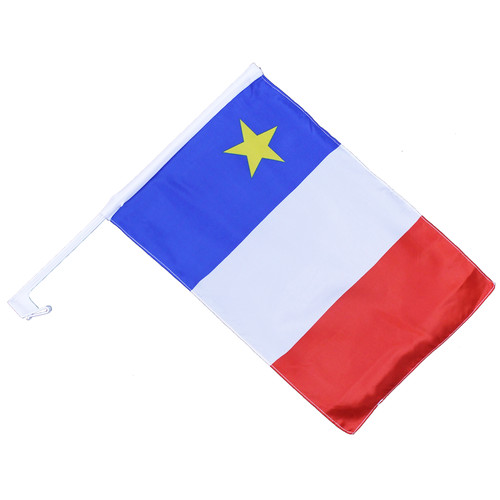 "Acadian Car Flag 12"" x 18"""