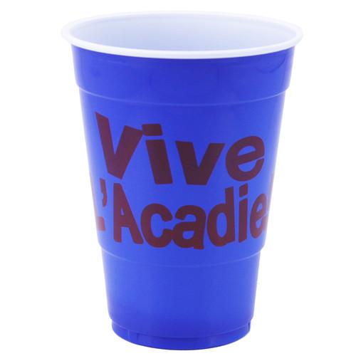 Acadian Print Beer Cups 10PK