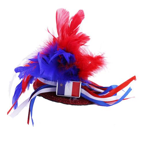 Acadian Mini Top Hat Hair Clip