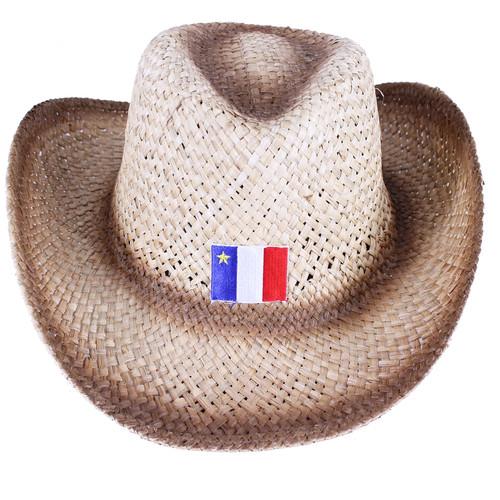 Acadian Straw Cowboy Hat