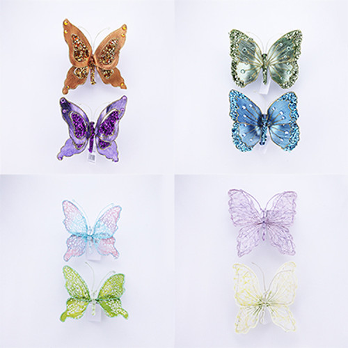 Butterfly on Clip & Magnet