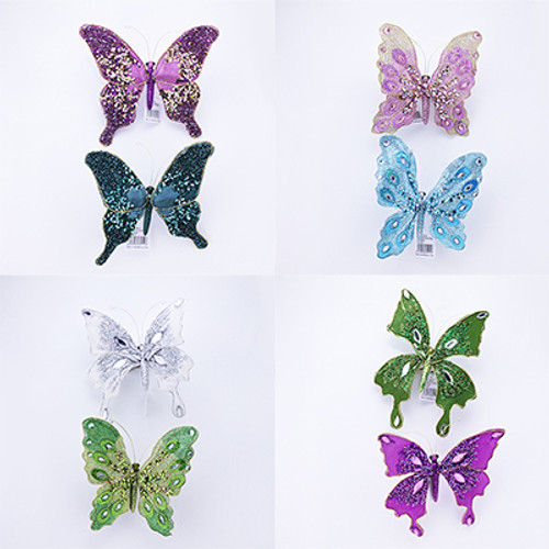 Large Butterfly on Clip & Magnet