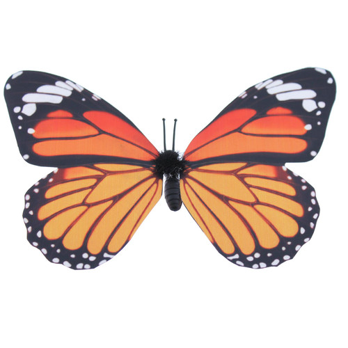 Monarch Butterfly Magnet With Bonus Butterfly on Card