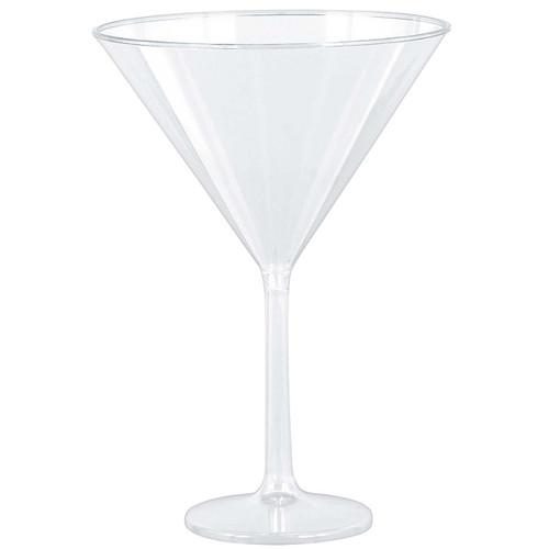 Clear Martini Glasses 4PK