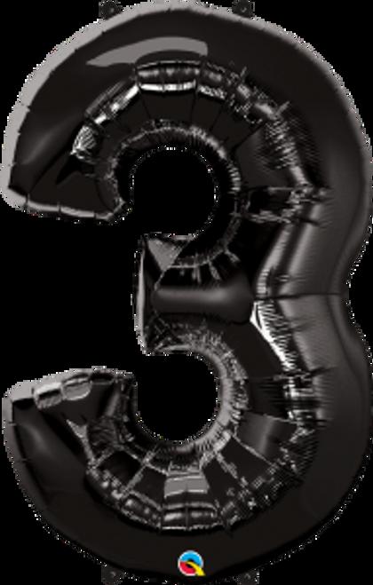 """Number Three - Onyx Black 44"""""""