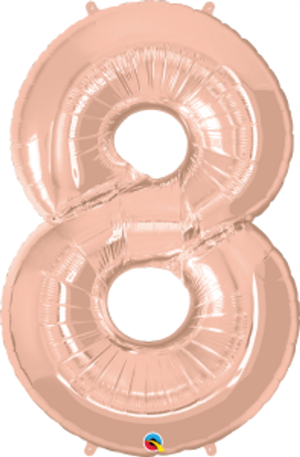 """Number Eight- Rose Gold 42"""""""