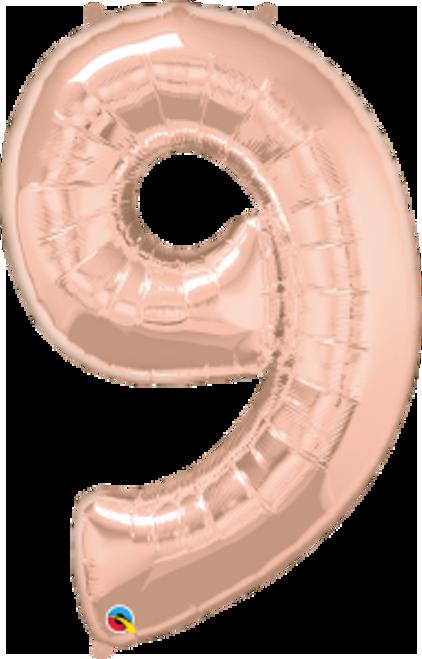 """Number Nine- Rose Gold 42"""""""