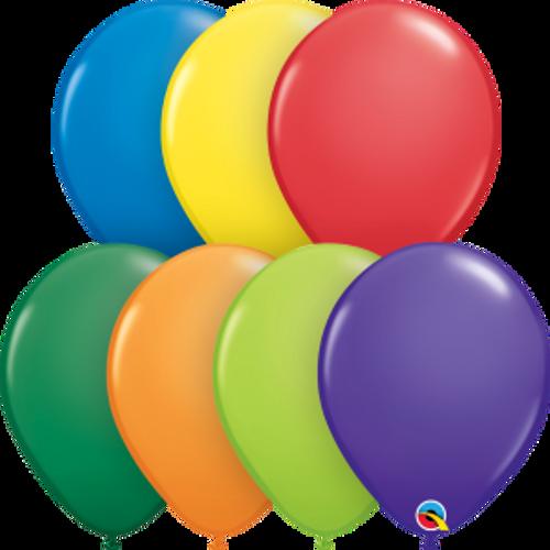"Carnival Assortment 11"" Latex Balloon"
