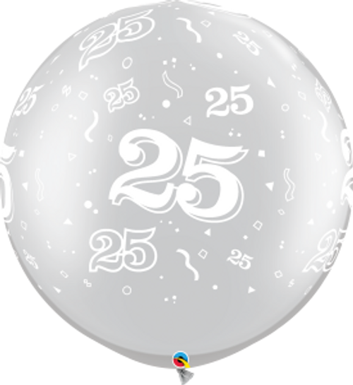 25-A-Round 3 Foot Latex Balloon