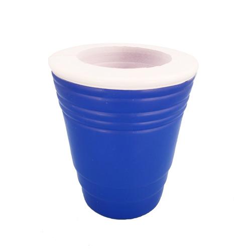 Foam Blue Cup Can/Bottle Holer