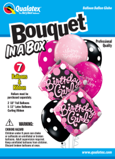 Birthday Girl Bouquet In A Box