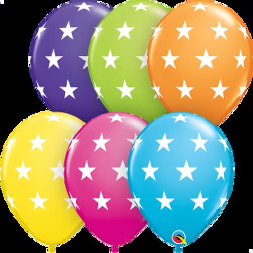 """Big Stars Assortment 11""""  Latex Balloon"""