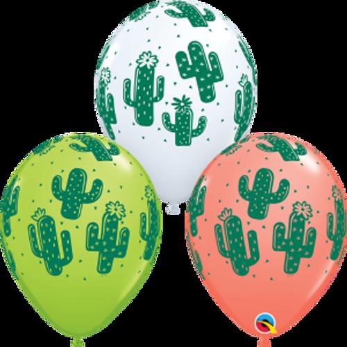 "Cactuses 11""  Latex Balloon"