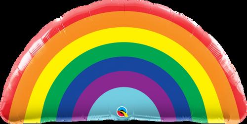"Bright Rainbow 36"" Foil Balloon"