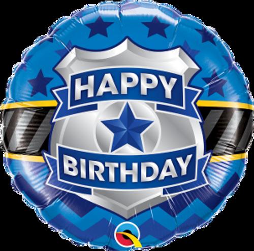 "Birthday Badge 18"" Foil Balloon"
